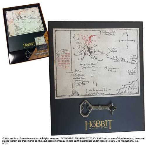 Thorin map en sleutel