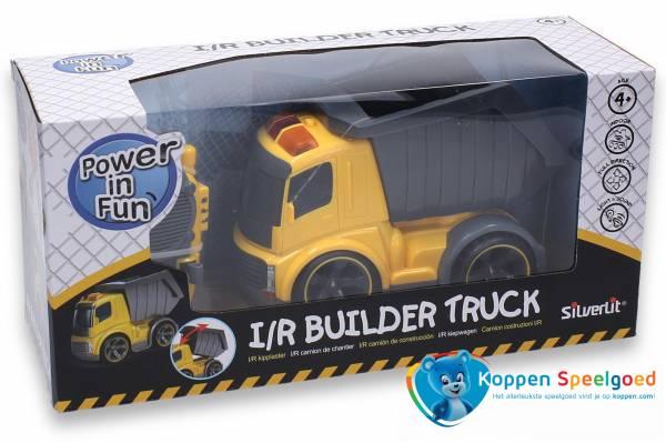 Bestuurbare kiepwagen
