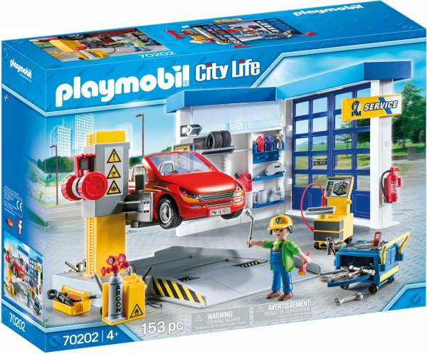 Autogarage Playmobil (70202)