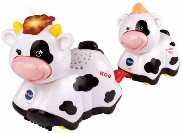 Zoef Zoef dieren Vtech: koe en kalfje 12+ mnd