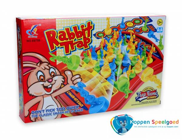 Spel konijnen vangen