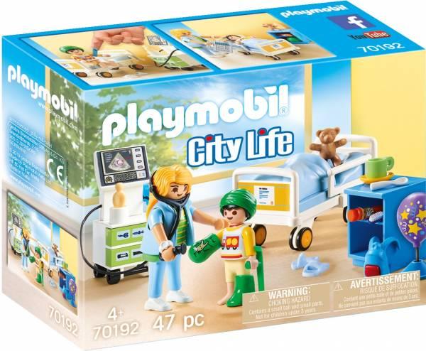 Kinderziekenhuiskamer Playmobil (70192)