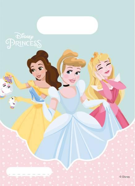 Feestzakjes Princess: 6 stuks (89223P)