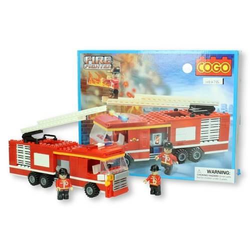 COGO Brandweer ladderwagen 219 stukjes