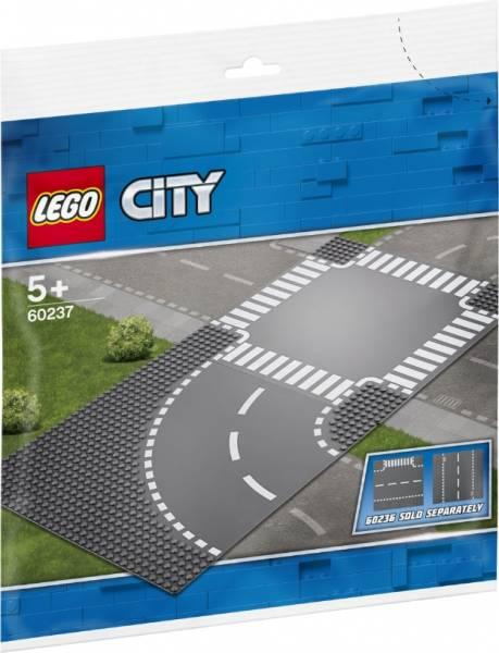 Bocht en kruising Lego (60237)