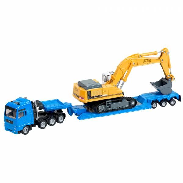 Siku Zwaar transport met graver
