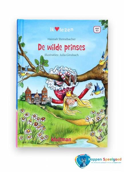 Boek, De wilde prinses. AVI E3