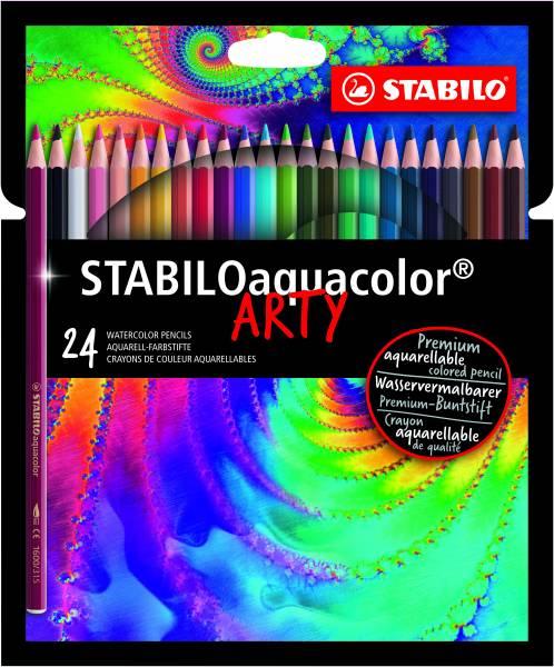 Kleurpotlood Stabilo Arty Aquacolor: 24 stuks (1624-1-20)