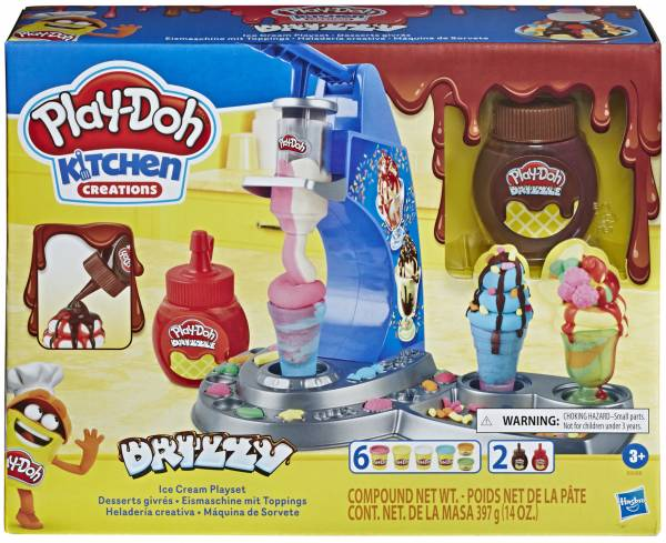 Drizzy IJsmachine met toppings Play-Doh (E6688)