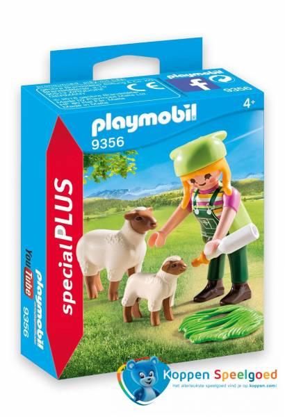PLAYMOBIL Schapenhoedster - 9356