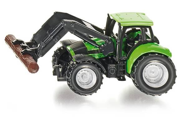 Tractor met Boom Grijper SIKU (1380)