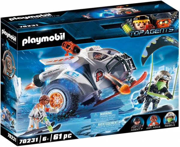 Spy Team sneeuwmobiel Playmobil (70231)