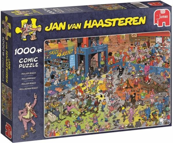 Puzzel JvH: Rollerdisco 1000 stukjes