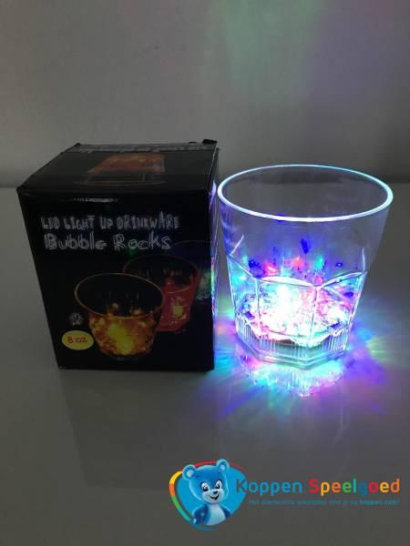 Lichtgevend glas met LED