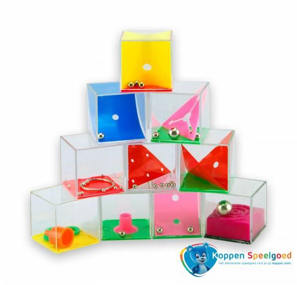 Geduldspel in kubus