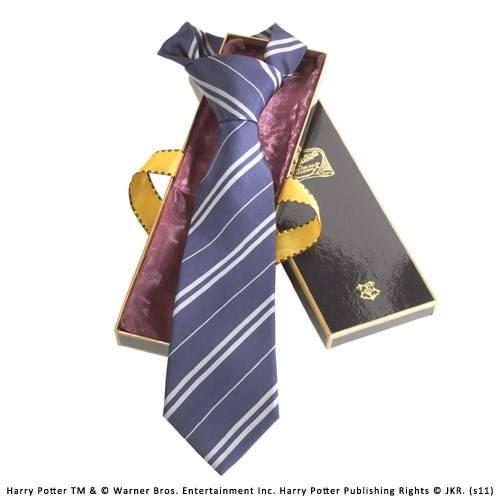 Ravenclaw 100% zijden stropdas in Madam Malkins Box