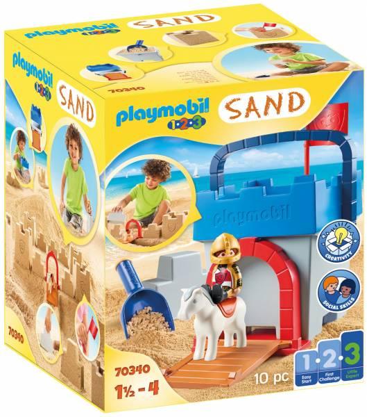 1.2.3. Zandkasteel Playmobil (70340)