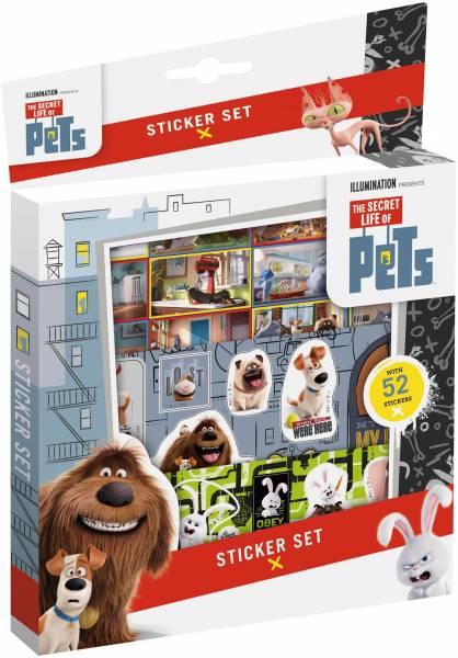 Sticker set Secret Life of Pets ToTum: 45 stickers
