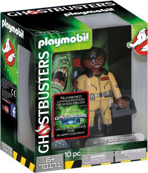 W. Zeddemore Ghostbusters Playmobil (70171)