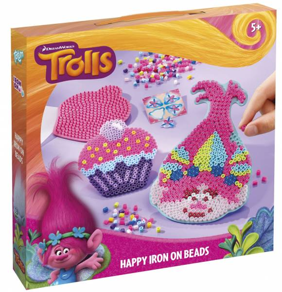 Happy Iron on beads Trolls ToTum
