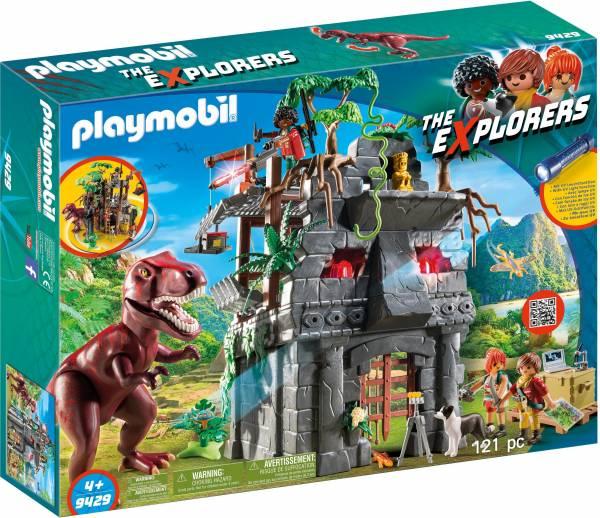Basiskamp van de Explorers met T-Rex Playmobil (94 29)