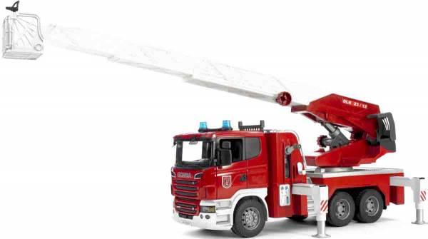 Bruder Scania R brandweerladderwagen 03590