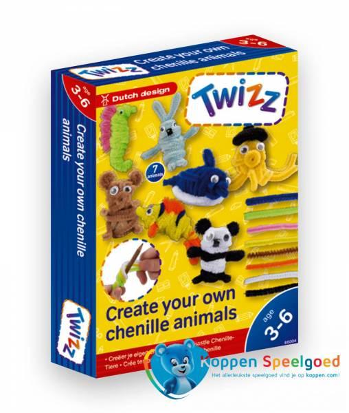 Twizz Creëer je eigen chenille dieren