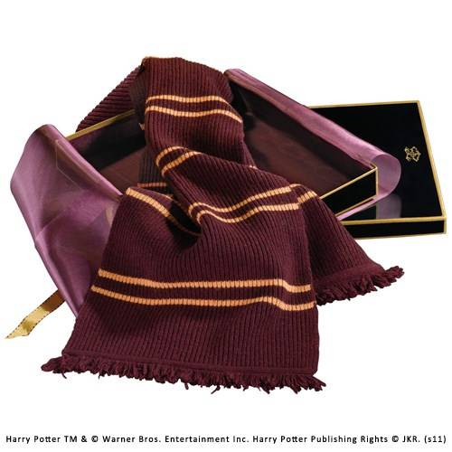 Gryffindor lamswollen sjaal in Madam Malkins Box