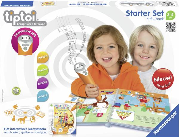 Starterset Tiptoi: geluiden prentenboek (008360)