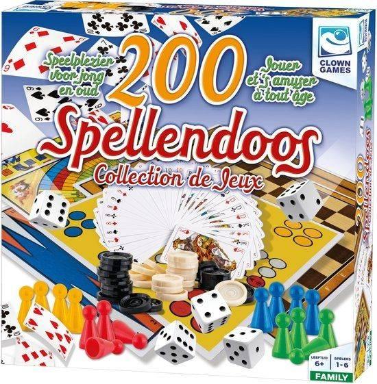 Spellendoos: 200-delig