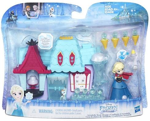 Mini Princess Frozen speelset: Snoepwinkel (B5195/ B5194)