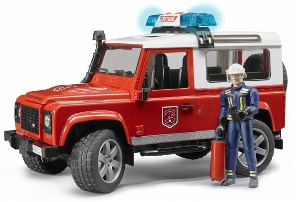 Land Rover Defender Brandweer Bruder (02596)