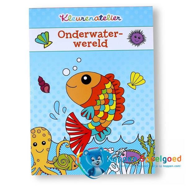 Kleurboek onderwaterwereld