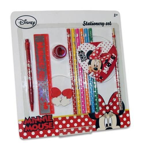 Disney Minnie fun schrijfset, 15 delig