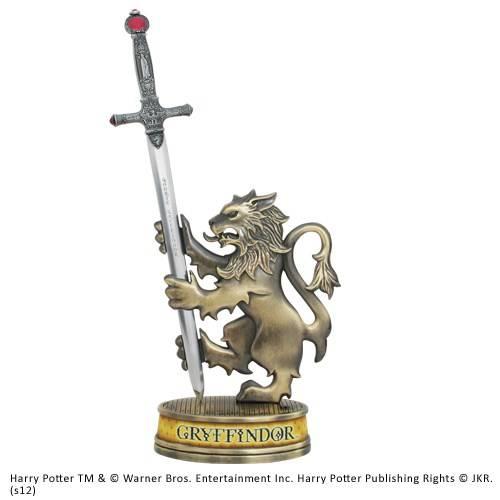 Gryffindor zwaard briefopener met display stand