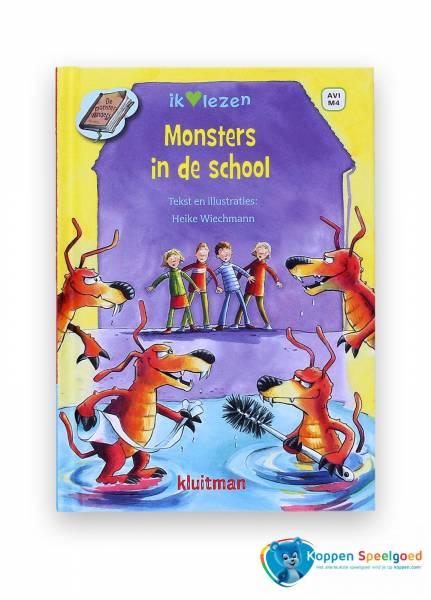 Boek, Monsters in de school. AVI M4