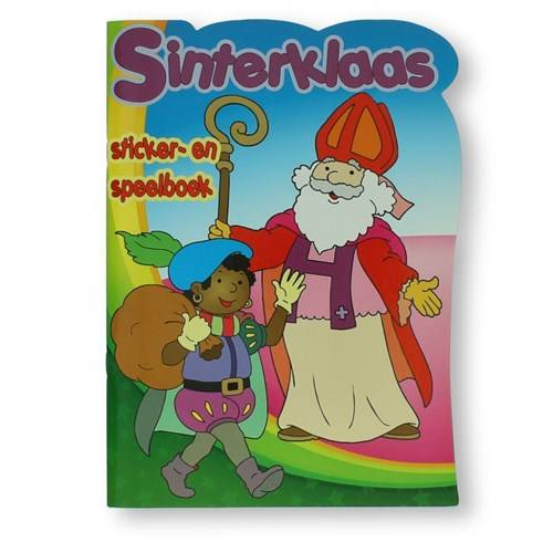 Sinterklaas sticker- en speelboek