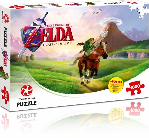 Puzzel Zelda: Ocarina of Time 1000 stukjes