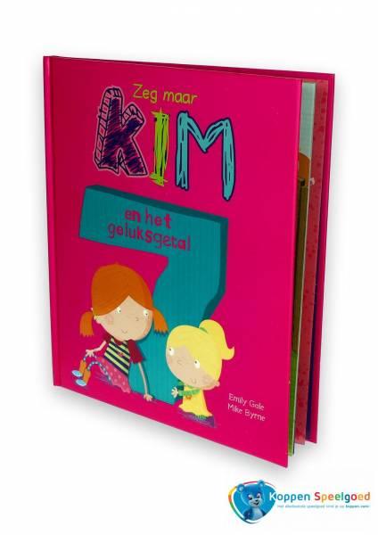 Boek Zeg maar Kim en het geluksgetal