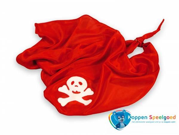 Bandana piraat, rood