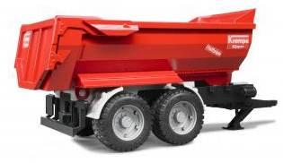Krampe Tandem-Halfpipe tipping trailer Bruder (02225)