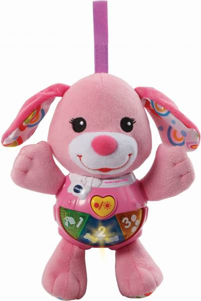 Knuffel en Speel Puppy Vtech roze: 3+ mnd (80-5023 52)