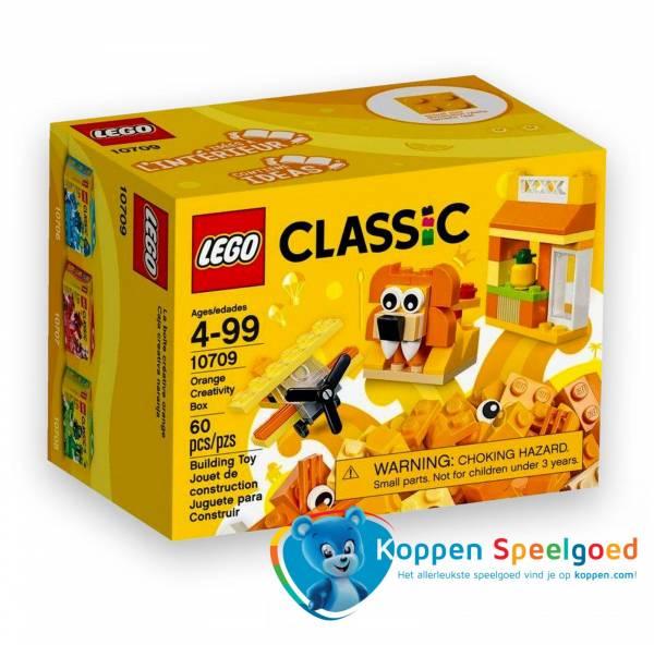LEGO Classic Oranje Creatieve Doos - 10709