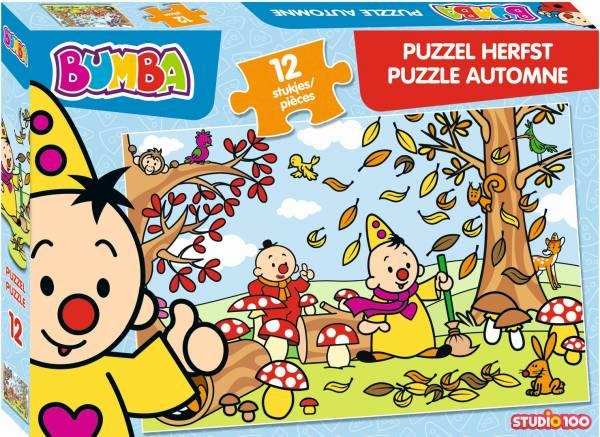 Puzzel Bumba herfst: 12 stukjes