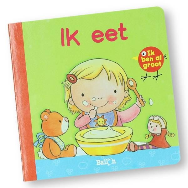 Boekje Ik ben al groot, ik eet