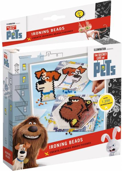 Ironing Beads Secret Life of Pets ToTum