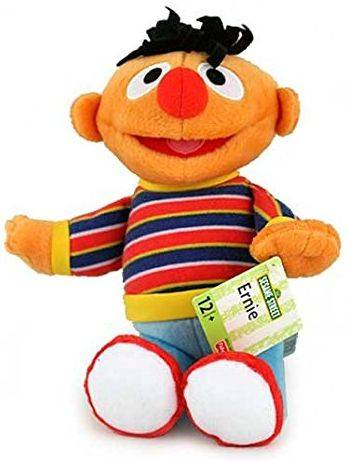 Pluche Sesamstraat Fisher-Price: Ernie 24 cm