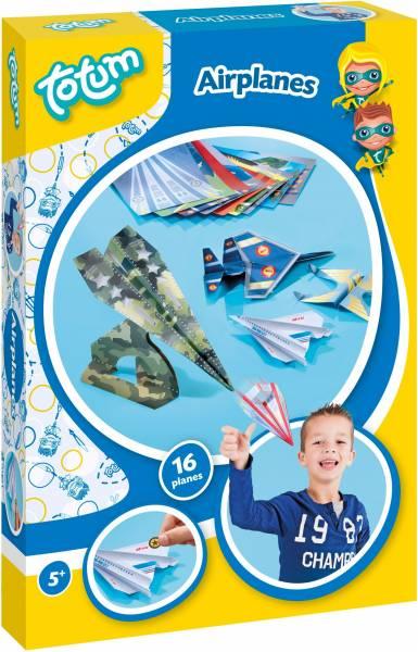 Airplanes ToTum: vliegtuigjes vouwen