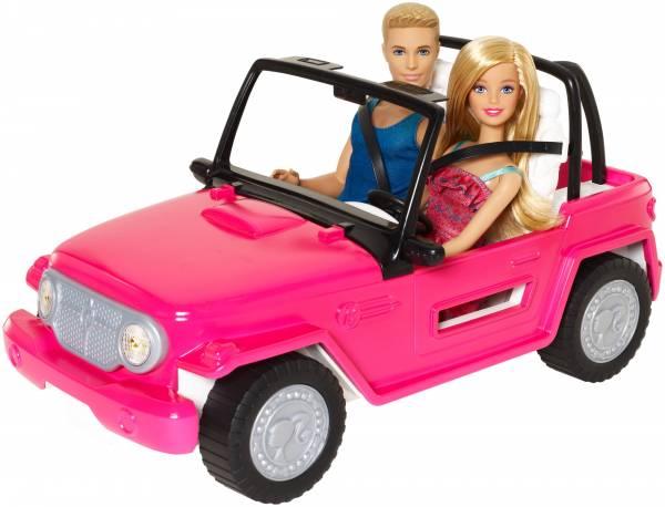 Beach cruiser Barbie met Ken & Barbie (CJD12)