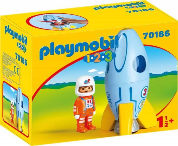 1.2.3. Astronaut met raket Playmobil (70186)